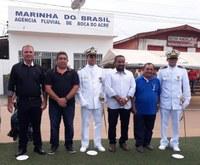 Cerimônia de troca de comando na Marinha de Boca do Acre