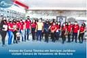 Alunos do curso técnico em serviços jurídicos visitam Câmara de vereadores de Boca Acre