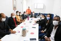 Reunião sobre a regularização fundiária urbana