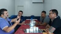 Vereadores participam de reunião com secretário de Produção