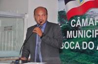 Vereador Adautivo parabeniza novo secretário de obras de Boca do Acre