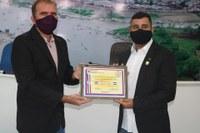 Tenente Thiago Luiz recebe título de Cidadão benemérito de Boca do Acre
