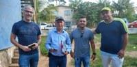 Vereador Ritsu Calacina acompanha visita de ténico e engenheiro da Companhia de Desenvolvimento do Amazonas