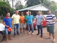 Vereadores acompanham equipe da Sasba e solicitam canalização para moradores