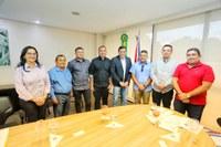 Vereadores participam de reunião com governador Wilson Lima