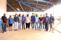 Vereadores visitam secretário de obras de Boca do Acre